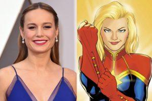 Brie Larson será Capitán Marvel