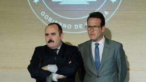 Carlos Areces y Joaquín Reyes, intérpretes fundamentales en la película