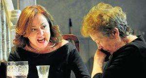 Carmen Machi y Amparo Baró en AGOSTO (OSAGE COUNTY)
