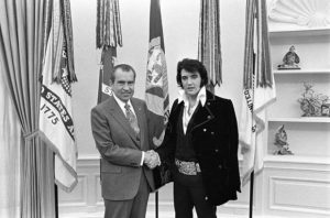 La fotografía original de Elvis y Nixon