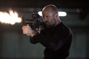 Arthur (Jason Statham) Bishop en plena acción