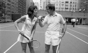 Los auténticos Billie Jean King y Bobby Riggs