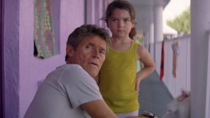 Bobby y Moonee en THE FLORIDA PROJECT