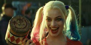 Margot Robbie en ESCUADRÓN SUICIDA