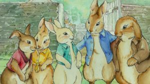 Las ilustraciones de Beatrix Potter en PETER RABBIT