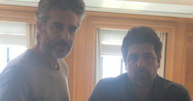 Félix Leonardo Sbaraglia y Cesc Gay