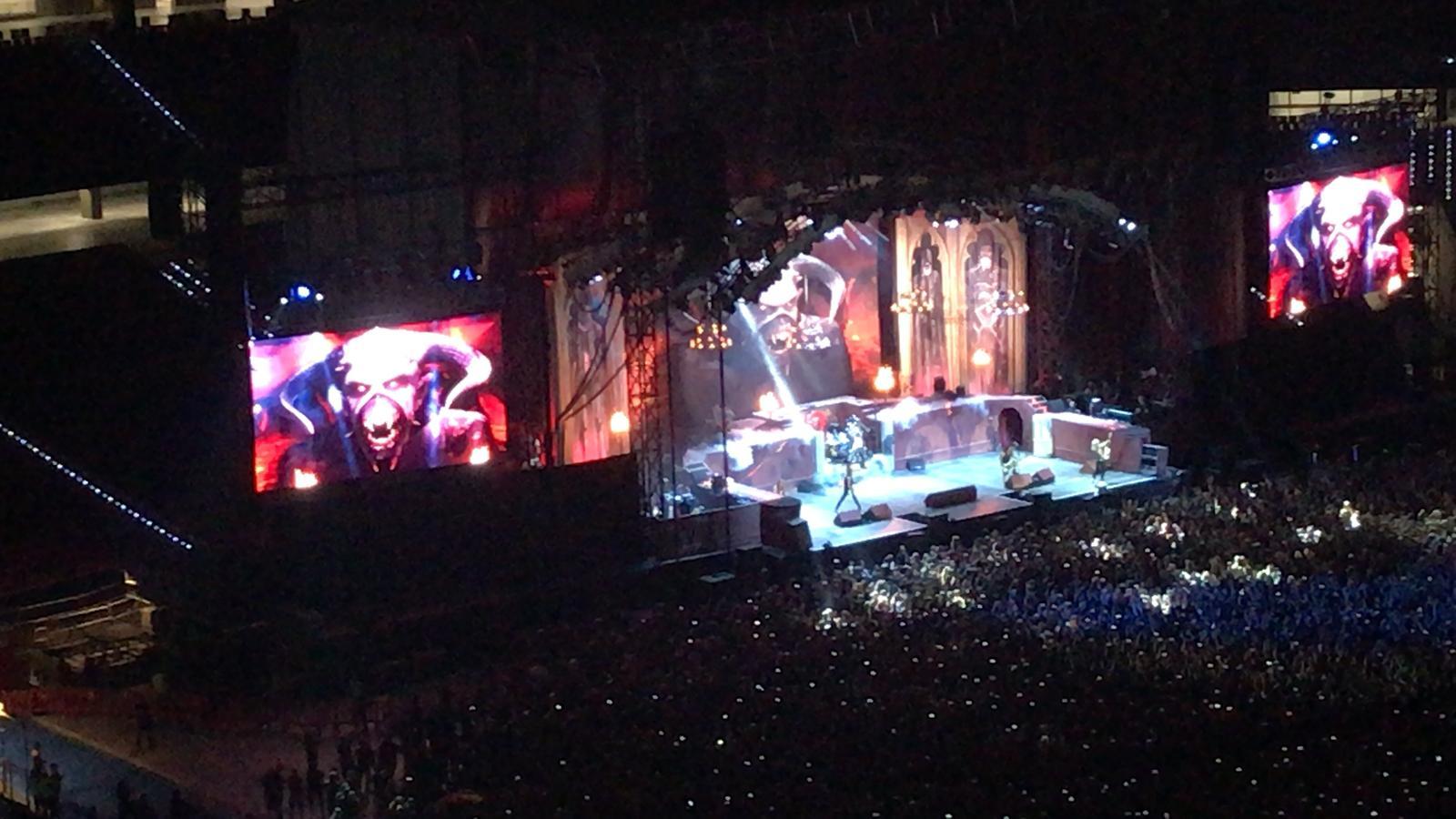 Concierto De Iron Maiden En Madrid La Cronosfera
