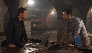 Tom Cruise y Henry Cavill cara a cara en MISIÓN: IMPOSIBLE - FALLOUT
