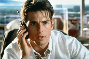 Tom Cruise en JERRY MAGUIRE