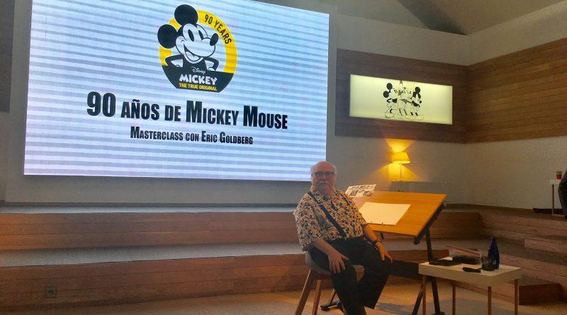 Mickey dibujo Eric Godlberg