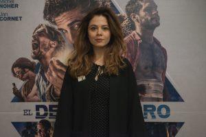 Jelena Jovanova presentando la película