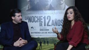 Alfonso Tort y Silvia Pérez Cruz en la entrevista