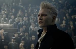 Johnny Depp interpreta a Grindelwald