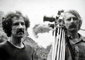 Werner Herzog y Jörg Schmidt-Reitwein