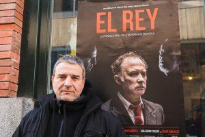Alberto San Juan, actor, guionista y codirector de EL REY