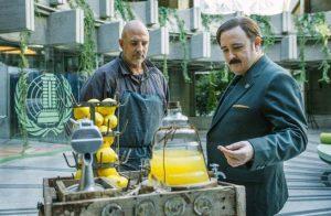 Roberto Álamo y Carlos Areces