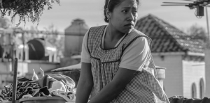 Cleo (Yalizta Aparicio), sirvienta y niñera en ROMA