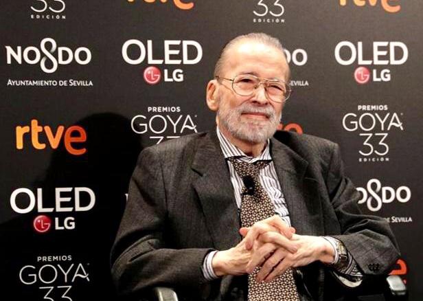 Narciso Ibáñez Serrador  en los premiso Goya 2019