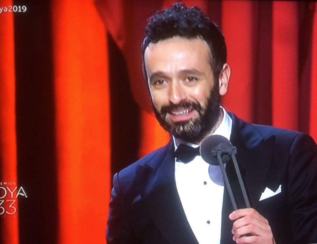 Rodrigo Sorogoyen, premiado en los premios Goya 2019