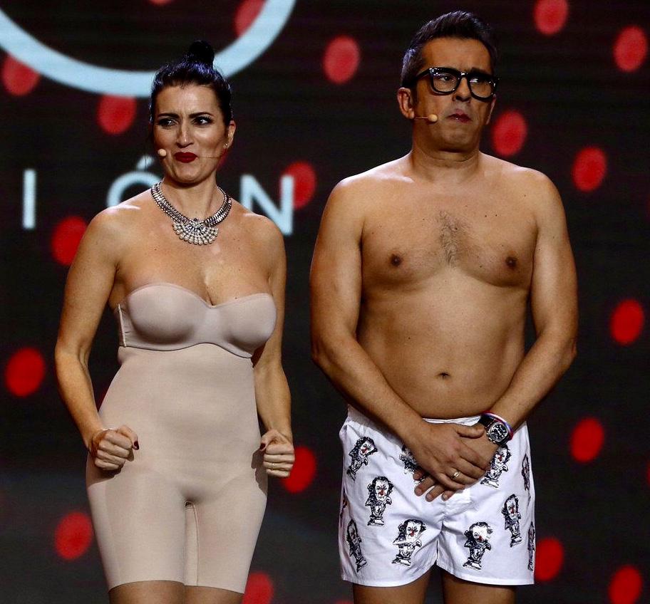 Sílvia Abril y Buenafuente  en los Premios Goya 2019
