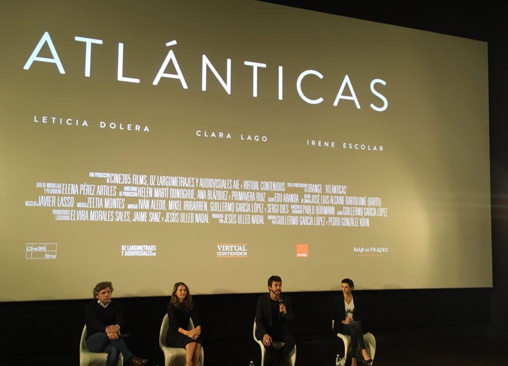 Momento de la presentación de ATLÁNTICAS