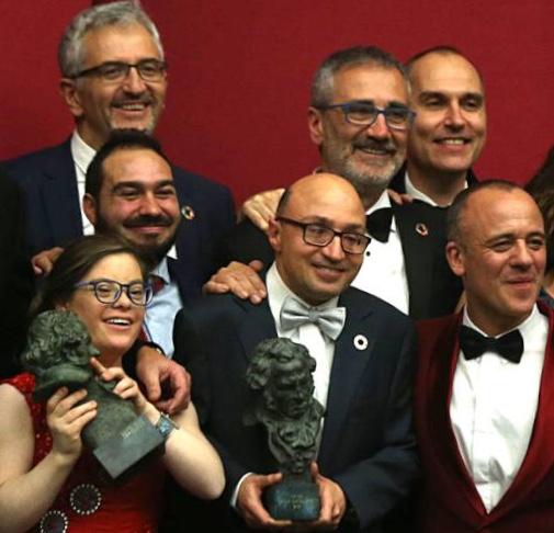 Campeones de Fesser en los Premios Goya 2019