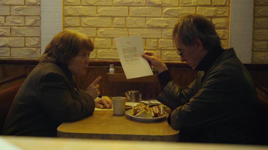 Las cartas falsificadas son la base de la película. ¿Podrás perdonarme algún día ?
