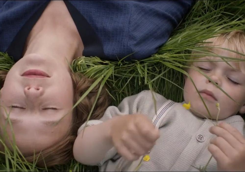 Astrid y su hijo Lars