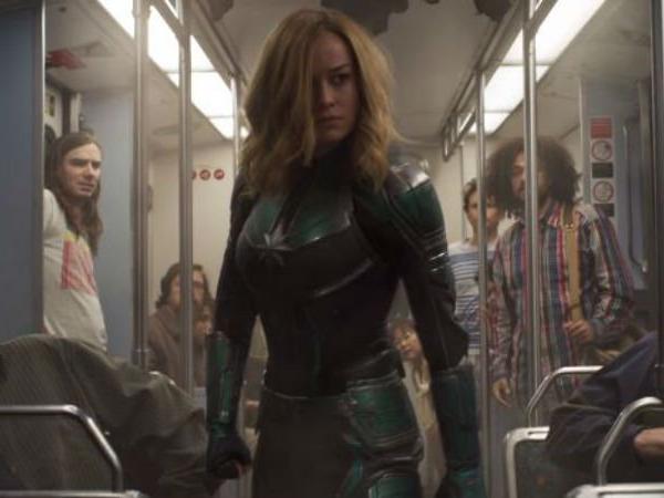 La secuencia del tren de Capitana Marvel
