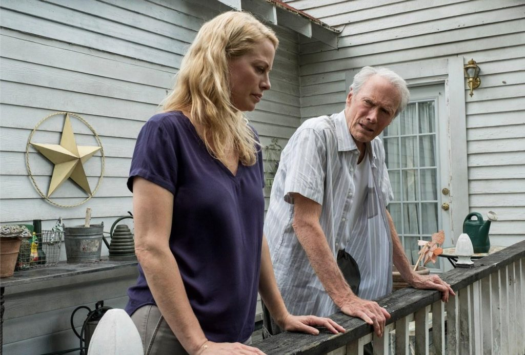 Alison Eastwood y Clint Eastwood en Mula
