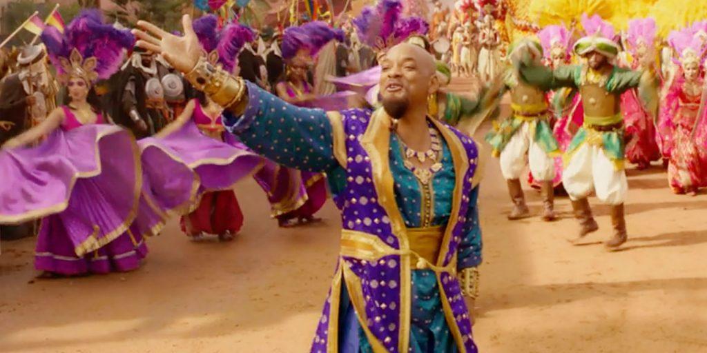 La parte más Bollywood del film Aladdin