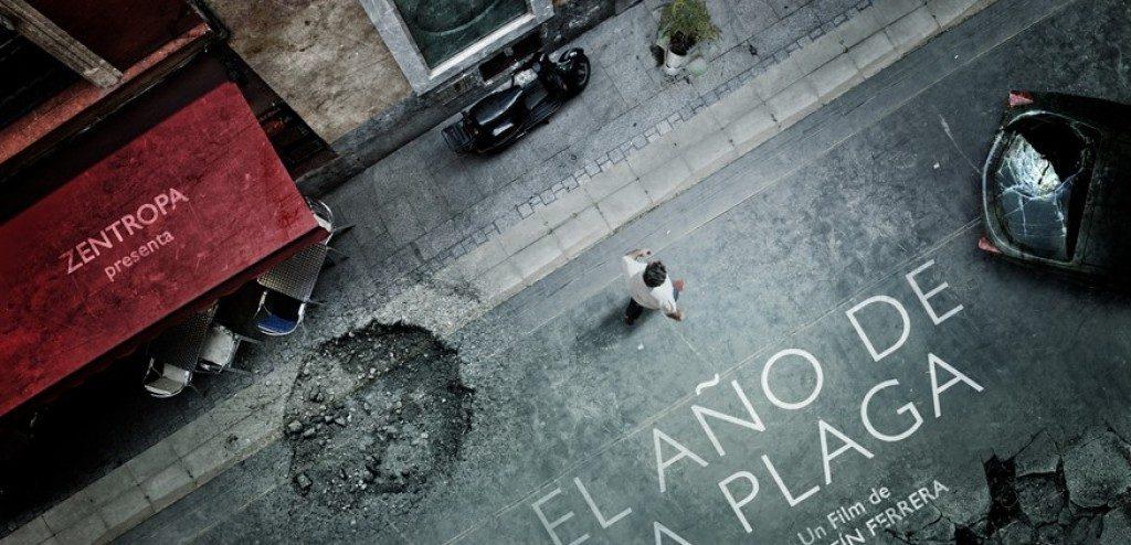 Espectacular cartel de EL AÑO DE LA PLAGA