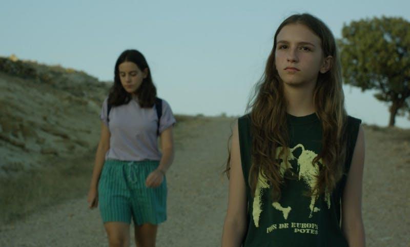Paula y su amiga Alicia