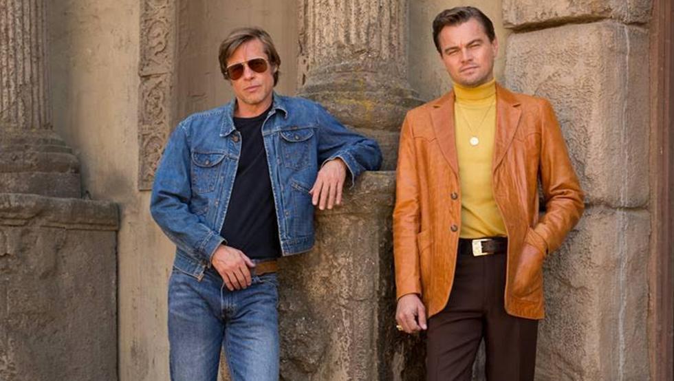 Brad Pitt y Leonardo DiCaprio -  En Érase una vez en Holywood, de Tarantino
