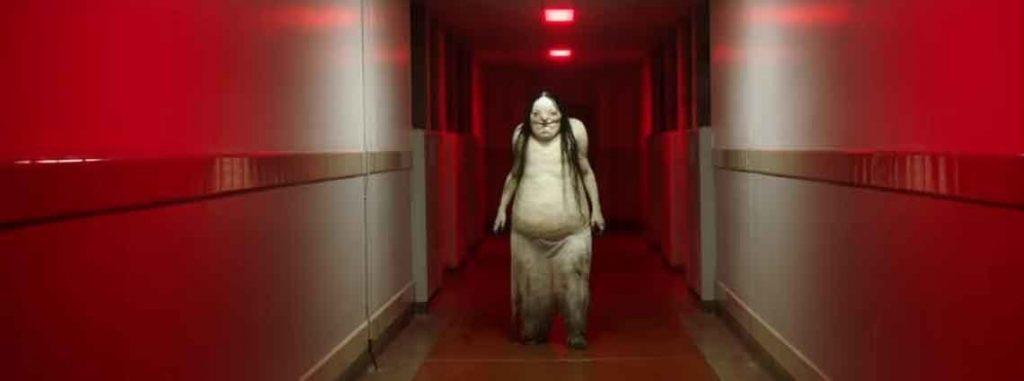 Uno de los monstruos del film de Historias de miedo para contar en la oscuridad