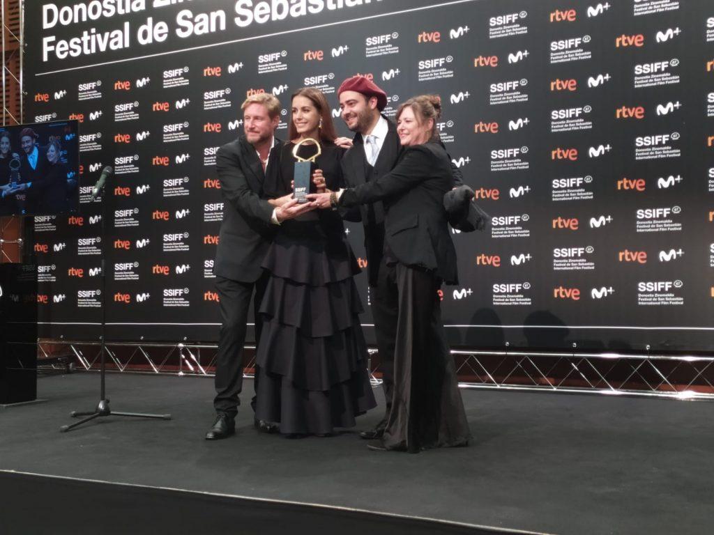 El equipo premiado de Pacificado - Palmares SSIFF 2019