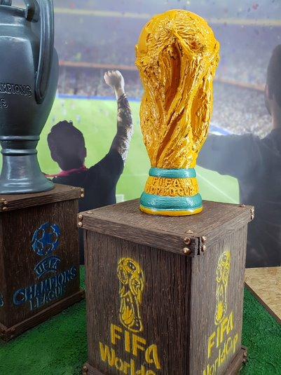 La Copa del Mundo hecha chocolate - Chocomadrid