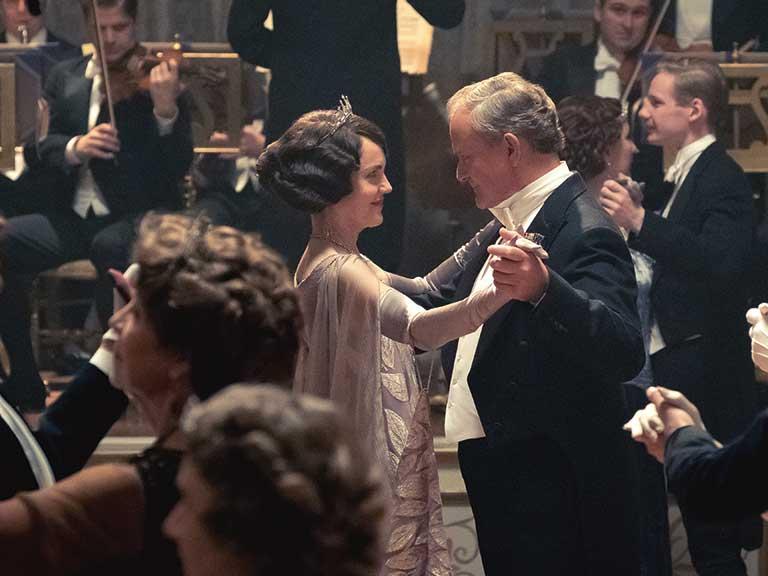 El baile de Downton Abbey