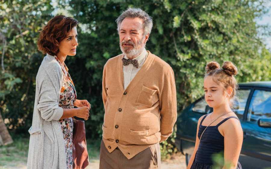 Los actores del film - Vivir dos veces - Inma Cuesta, Óscar Martínez y Mafalda Carbonell