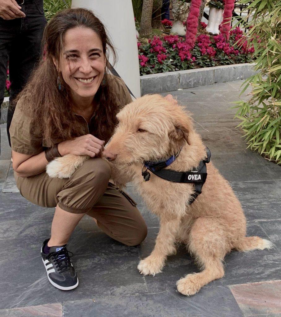 Oveja, el perro de Diecisiete nos salud'o en SSIFF