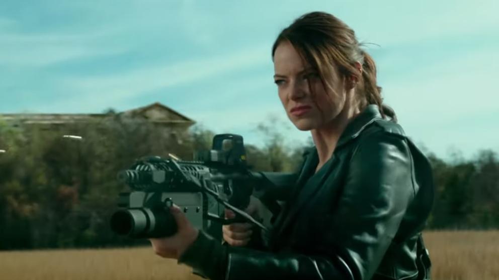 Emma Stone en Zombieland