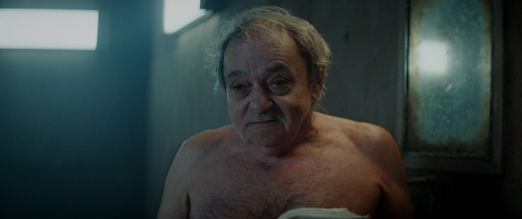 Zorion Eguileor como Trimagasi en EL hoyo