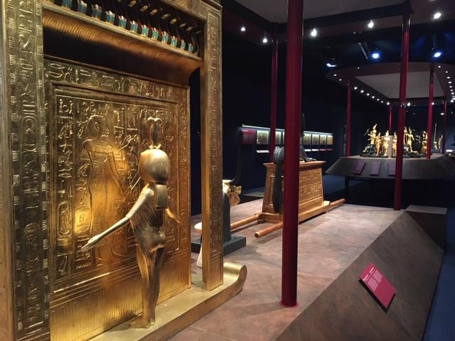 La exposición de Tutankhamón: La tumba y sus tesoros