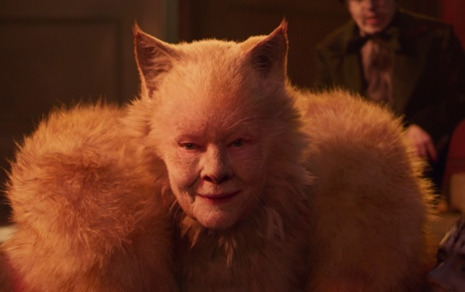 Judi Dench como la sabia líder de CATS