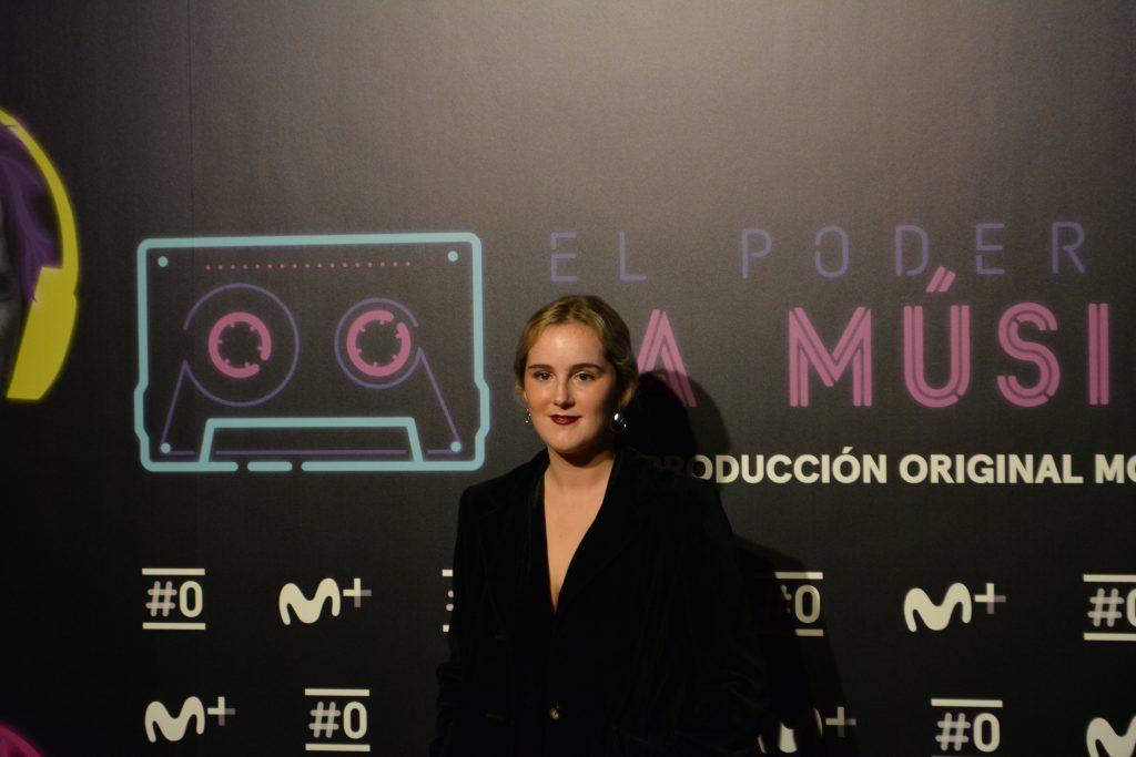 Isa Ruiz-Baraibar en la presentación de El poder de la música