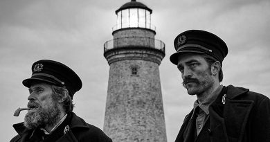 El faro: Willem Dafoe y Robert Pattinson