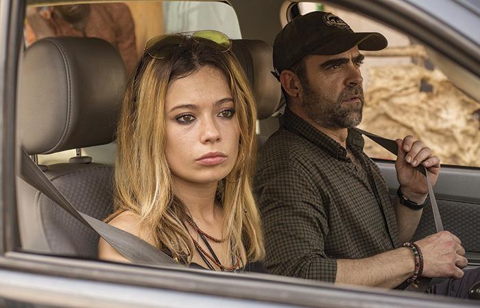 Anna Castillo y Luis Tosar, hija y padre en la ficción, en ADÚ