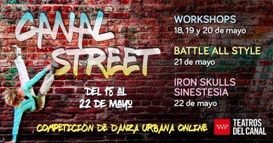 CANAL STREET, el primer gran evento virual de Danza Urbana