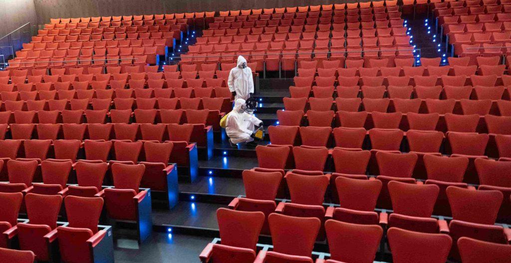 Teatros del canal  DESINFECCION COVID19