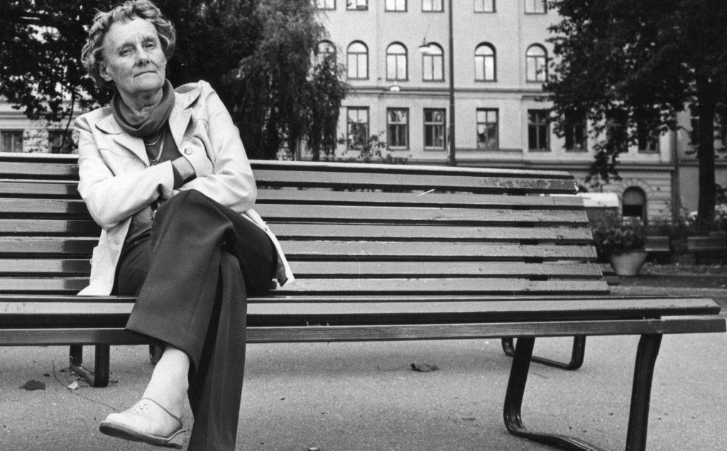 La autora sueca de Pippi calzaslargas, Astrid Lindgren